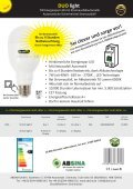 Absina Katalog Duo Light mit Netzausfall Elektronik 2017 - Seite 2