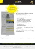 Absina Katalog Duo Light mit Netzausfall Elektronik 2017 - Seite 5