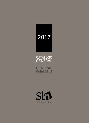 Stn Cerámica Catálogo General 2017