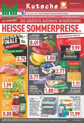 Marktkauf Kutsche KW31