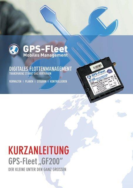 Kurzanleitung GF200