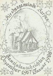 Gemeindebrief Dezember1987 Januar 1988