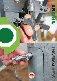 Absina catalogue universal keys english version 2017