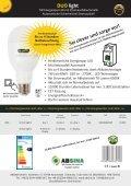 ABSINA DUO light... leuchtet auch bei einem Stromausfall - Seite 2