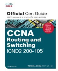 CCNA Routing and Switching ICND2 200-105 Official Cert Guide (200-105)