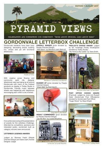 Pyramid Views AUGUST 2017
