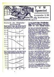 Vereinszeitung 1986 Ausgabe 2 - Tennisverein Winnekendonk