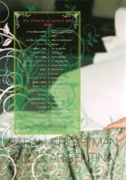 SB In concert with Orchestra (Tourbook Japan) 14