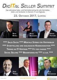 digITal Seller Summit_ 23. Oktober Leipzig - eine Veranstaltung von Avispador
