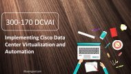 Examgood 300-170 DCVAI Real Dumps,Cisco 300-170 CCNP Data Center Training Exam Questions
