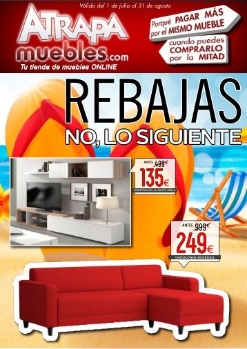 Catálogo Atrapa muebles hasta 31 de Agosto 2017