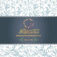 GhaSsan Decor catalog 2017