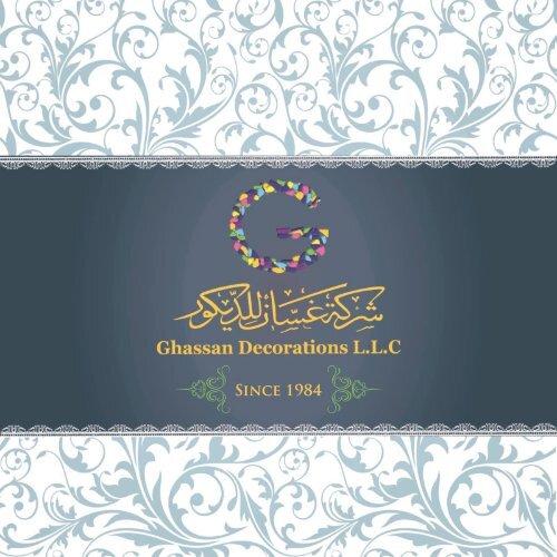 GhaSsan Decor catalog 2017