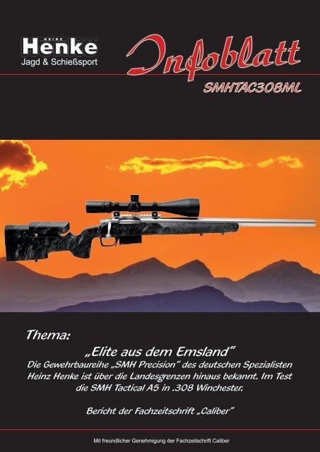 Henke-Infoblatt SMH Tactical A5 Mehrlader in .308 Win.