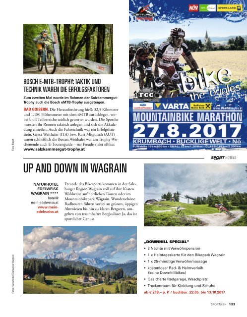 SPORTaktiv Magazin August 2017