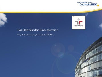Angebot der Deutschen BKK
