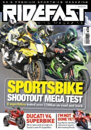 RideFast Magazine august 2017 issue