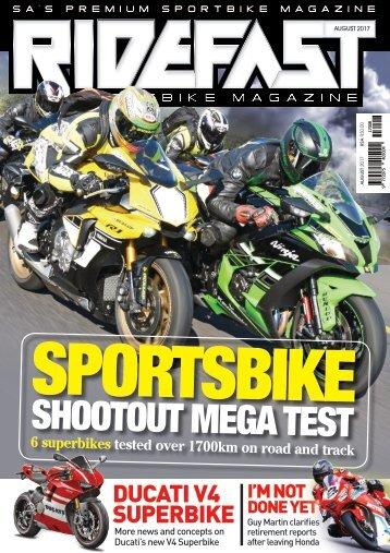 RideFast Magazine august 2017 issue