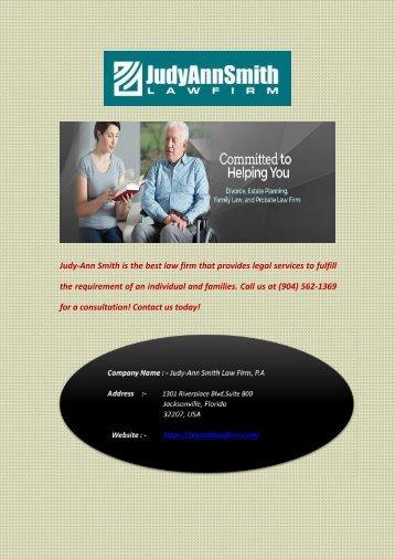 Best Law Firm in Jacksonville - Judy-Ann Smith