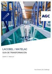 Guía de transformación Lacobel Matelac (ES)