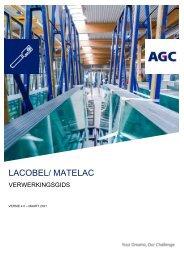 Handleiding voor verwerking Lacobel Matelac (NL)