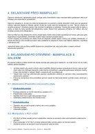 Návod ke zpracování Lacobel Matelac (CZ) - Page 4