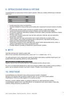 Návod ke zpracování Lacobel Matelac (CZ) - Page 7