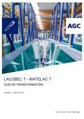 Guía de transformación Lacobel T Matelac T (ES)