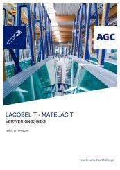 Handleiding  voor de verwerking Lacobel T Matelac T (NL)