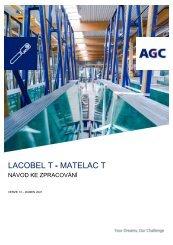 Návod ke zpracování Lacobel T Matelac T (CZ)