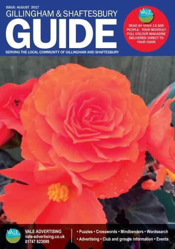 Gillingham & Shaftesbury Guide August