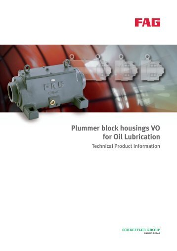 FAG plummer block housings VO