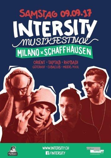 Intersity  Musikfestival 2017