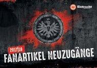 Eintracht Frankfurt Fanartikel Neuheiten Saison 2017/18