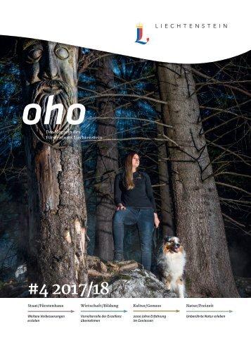 oho #4 - Das Magazin des Fürstentums Liechtenstein