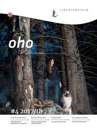 oho #4 - The magazine of the Principality of Liechtenstein
