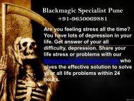 Blackmagic Specialist Pune | +91-9650069881
