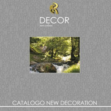 Catalogo New Decoration ristampa 2017