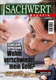 Sachwert Magazin Ausgabe 57, Juli 2017