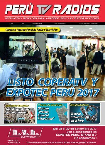 REVISTA PERU TV RADIOS JUL-AGO 2017