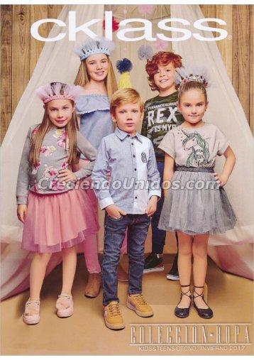 #595 Cklass Kids Fashion Ropa para ninos Otono Invierno 2017