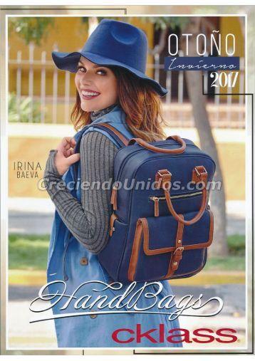 #599 Cklass Hand Bags para Dama Otono Invierno 2017