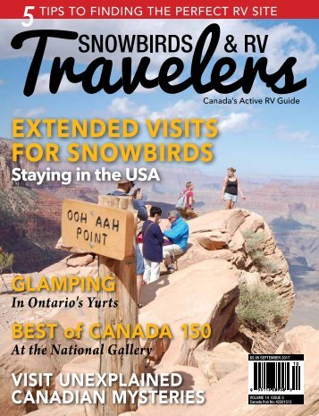 2017 145 Snowbirds RV Travelers
