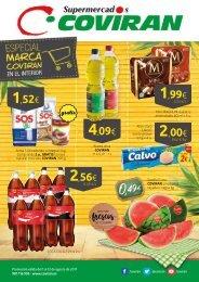 Folleto Supermercados COVIRAN del 1 al 12 de Agosto 2017