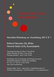 Galerie Atelier TonArt Wernetshausen