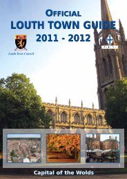 Louth town guide - we will remember them