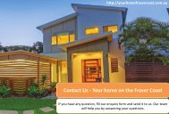 Contact Us - Your home on the Fraser Coast