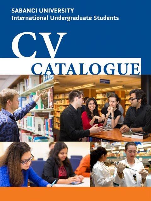 Sabanci University International Undergraduate Students CV Catalogue