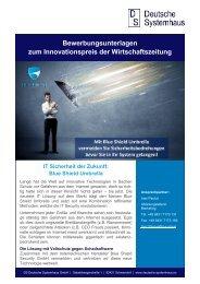 Wirtschaftszeitung_Bewerbung Innovationspreis