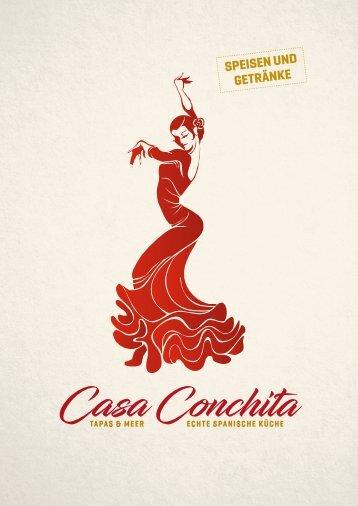 Speisekarte Casa Conchita